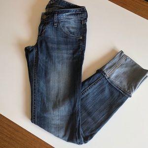 Express Cuffed Jeans